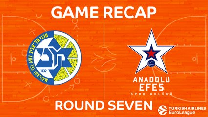EuroLeague 2017-18 Highlights Regular Season Round 7 video: Maccabi 72-92 Efes