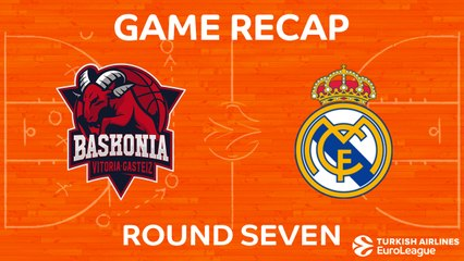 EuroLeague 2017-18 Highlights Regular Season Round 7 video: Baskonia 105-75 Madrid