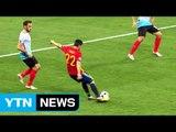스페인·이탈리아, 나란히 16강...'화염 투척' 얼룩 / YTN (Yes! Top News)