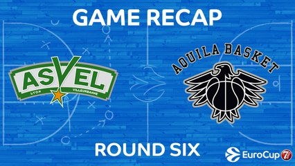 7Days EuroCup Highlights Regular Season, Round 6: ASVEL 79-67 Trento