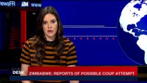 i24NEWS DESK | Zimbabwe: Reports of possible coup attempt | Tuesday, November 14th 2017