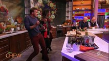 Guillermo Diaz Makes Yucca with Mojo Sauce on The Chew