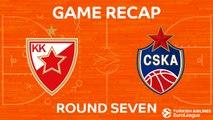 Highlights: Crvena Zvezda mts Belgrade - CSKA Moscow