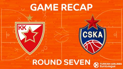 EuroLeague 2017-18 Highlights Regular Season Round 7 video: Zvezda 59-85 CSKA