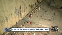Phoenix crash victim's family speaks out