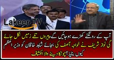 Ch Ghulam Hussain Reveled Why Nawaz Sharif Select Shahid Khaqan Abbasi