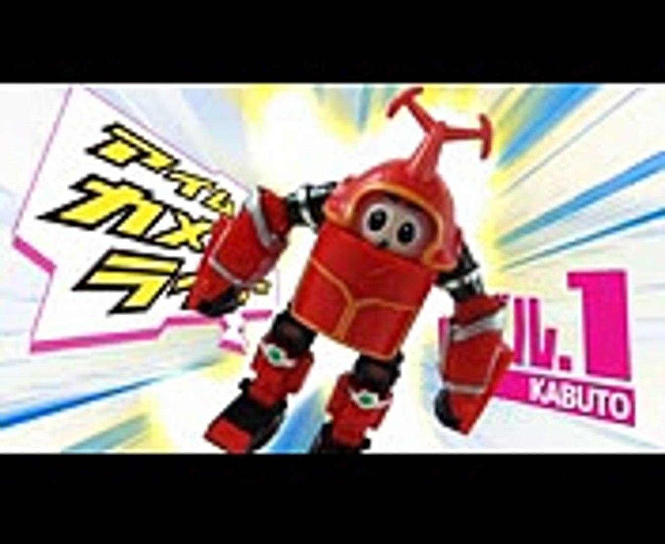 Dad tried to transform into Kamen Rider Kabuto!