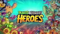PvZ HEROES - JOGO NOVO!! (iOS / Android) | Plants vs Zombies Heroes Gameplay PT-BR