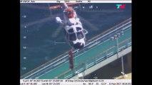 Exitoso rescate en alta mar de una turista alemana que sufrió un ACV en un crucero