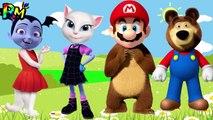 Wrong Heads VAMPIRINA Super Mario Talking Angela Masha and the Bear The Alphabet Song for kids fun-L8jM4e4HOaQ