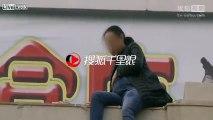 Sauvetage d'une femme enceinte au bord du suicide en chine !