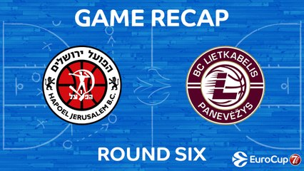 7Days EuroCup Highlights Regular Season, Round 6: Jerusalem 93-81 Lietkabelis