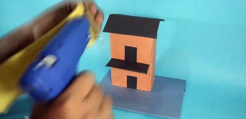 How to make a Cardboard House.