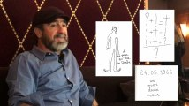 Eric Cantona décrypte trois de ses dessins