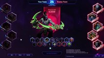 Heroes of the Storm Ranked Gameplay - Azmodan DUNK Build - Cursed Mines