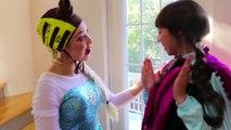 Frozen Elsa & Spiderman vs Anna SPIDER PRANK w_ Belle Giant Egg Fun Superhero Movie in real life IRL | Superheroes | Spiderman | Superman | Frozen Elsa | Joker