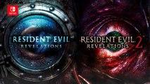 Resident Evil : Revelations 1 et 2 - Bande-annonce Switch