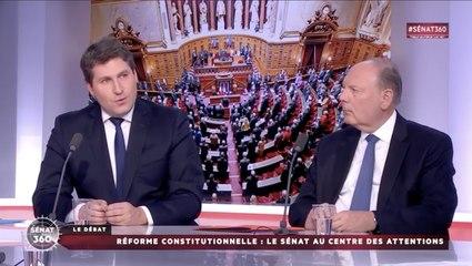 Réforme constitutionnelle : débat sur Public Sénat avec Mathieu Darnaud