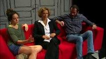 Corinne Touzet parle de son rôle, de son métier et d'Aix-en-Provence au théâtre de Marignane