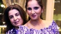 Sania Mirza Celebrate her Birthday with Soaib Malik