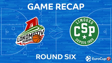 7Days EuroCup Highlights Regular Season, Round 6: Lokomotiv 81-55 Limoges