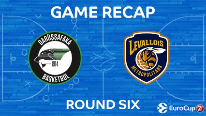 7Days EuroCup Highlights Regular Season, Round 6: Darussafaka 100-67 Levallois