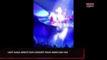 Lady Gaga interrompt son concert pour aider une fan blessée (vidéo)