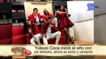 Yuleysi Coca inició el año con pie derecho, ahora es actriz y cantante