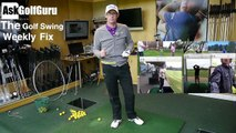 The Golf Swing Weekly Fix Over The Top and Golf Grip