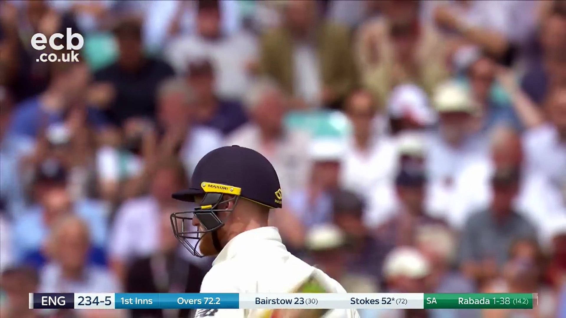 Stokes And Roland-Jones Give England Full Control - England v South Africa 3rd Test Day 2 2017