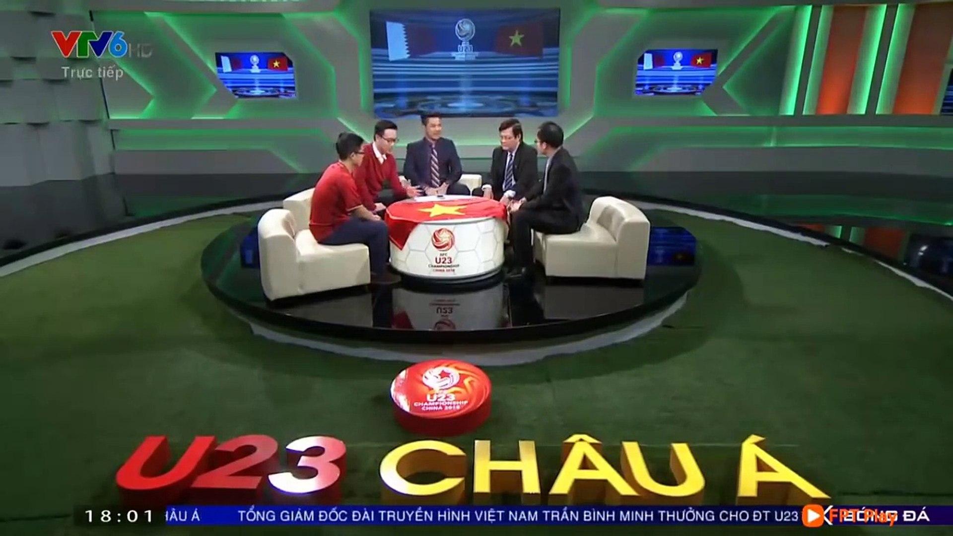 U23 Việt Nam vs U23 Qatar | Bình Luận Sau Trận Đấu | Cả trường quay VTV đã khóc khi VN vào Chung Kết