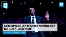 Kobe Bryant Lands Oscar Nomination for 'Dear Basketball'