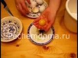 Торт «Птичье молоко» с сыром маскарпоне