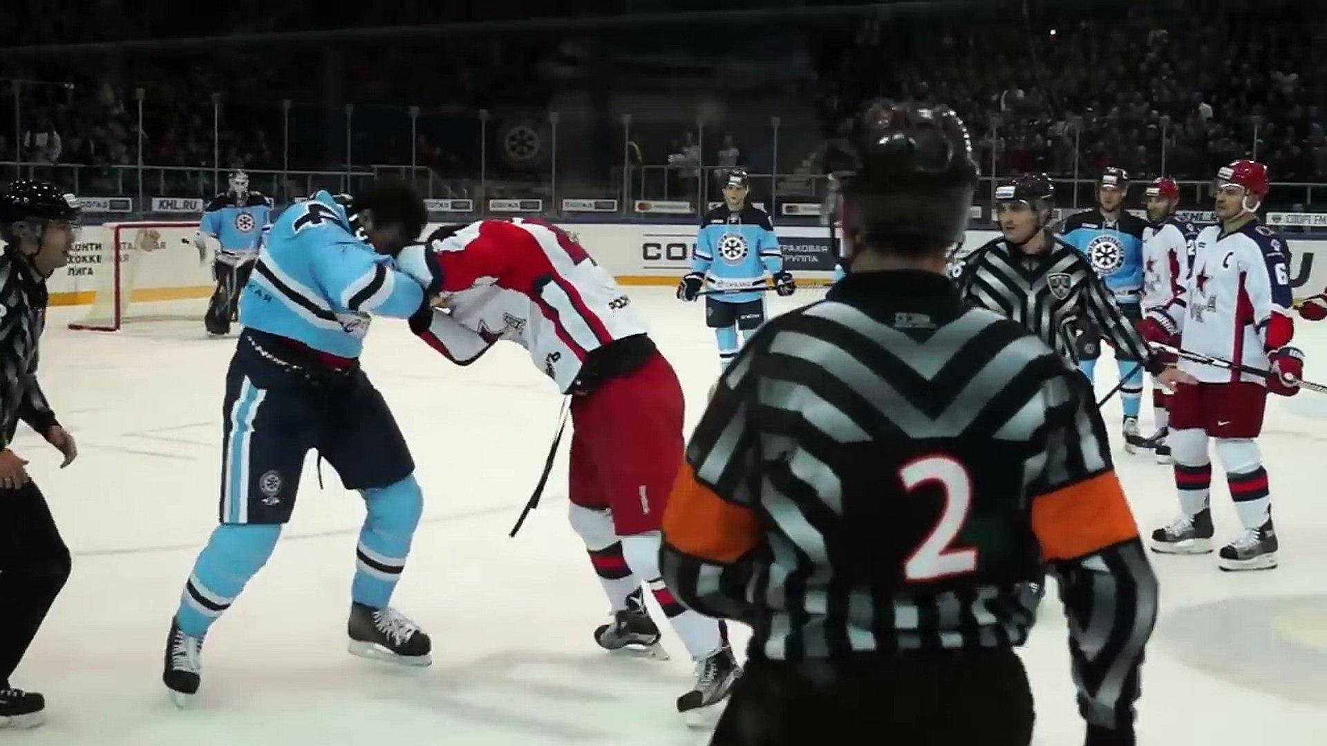 Бои КХЛ: Артюхин VS Ничушкин/Fight Artyukhin VS Nichushkin