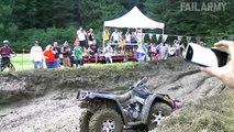 Everyone thinks riding quads will end well...