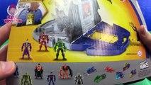 Batman Flash Green Arrow Robin Battle Bane | Batman Unlimited Batcave Playset Superheroes Toy Video