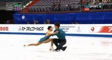 5 Miu SUZAKI / Ryuichi KIHARA JPN SP 2018 Four Continents