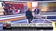 Richard Ferrand sur l'absence des députés LREM pour les 55 ans du traité de l'Elysée