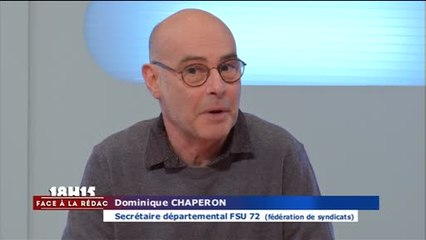 Face à la Rédac : Collectif Pas de Village sans Ecole (Sarthe) - 22/01/2018