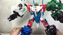 Transformers Combiner Wars Sky Reign Combined Mode Generations Toy Review