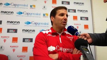 """Biarritz Olympique : """"on a laissé des points à l'extérieur"""""""