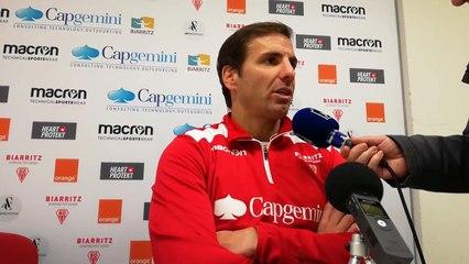 """Biarritz Olympique : """"il va falloir gérer intelligemment la saison"""""""