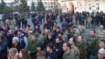 STK'lardan Abhazya Cumhurbaşkanına İstifa Çağrısı