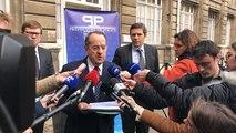 Michel Delpuech, préfet de police de Paris fait le point sur les crues
