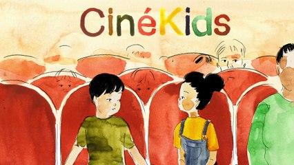 Bande-annonce CinéKids réalisée par Anne-Lise Nemorin, musique de Valentin Bauer