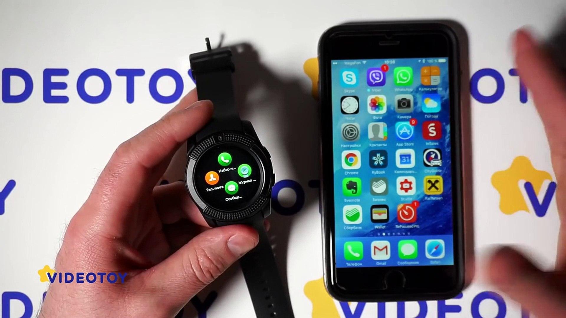 Умные часы с сим картой Smartwatch V8 - для детей и не только - Smart Watch 2017