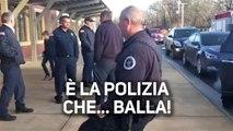 Ecco cosa succede quando la polizia si mette a ballare