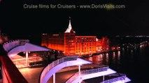 Venice by night.  Jean's evening sail away for Doris Visits