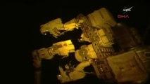 Nasa Astronotları Uzay İstasyonu Dışındaki Robot Kolu Onardı