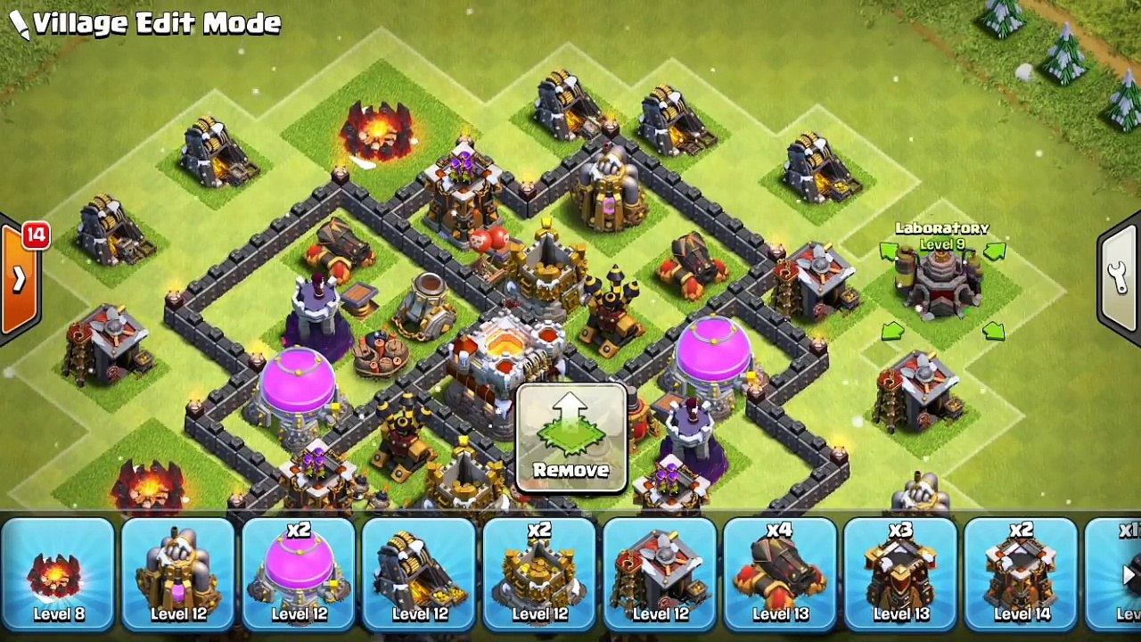 Coc Th 6 Best War Base 8